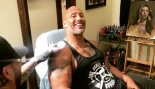 The Rock Famous Arm Tattoo Gets a Facelift thumbnail