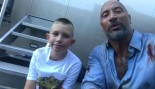 The Rock Meets 10-Year-Old Hero thumbnail