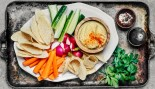 Vegetables and Hummus thumbnail