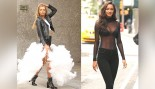 The Victoria's Secret Angels look sexy in New York City for their lingerie fittings thumbnail