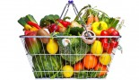 Basket Of Vegetables And Fruit thumbnail