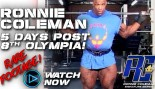 Rare Footage of Ronnie Coleman Lifting thumbnail