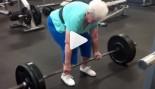 78-Year-Old Granny Crushes 225 LB. Deadlifts thumbnail