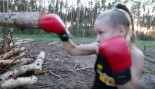 8-Year-Old Boxer Demonstrates Amazing Hand Speed thumbnail