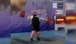 Watch: Olympic Lifter Struggles to Complete Clean & Jerk thumbnail