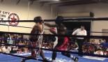 Amateur Boxer Ahmad Jones Records Hellacious KO thumbnail