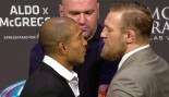 Aldo McGregor Faceoff UFC 189 thumbnail