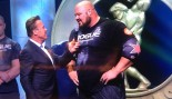 Arnold Schwarzenegger Interviews Brian Shaw after he won the Arnold Strongman Classic thumbnail