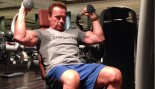 Arnold Schwarzenegger working out in India thumbnail