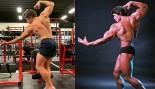 Arnold Schwarzenegger's Son Poses Like Dad thumbnail