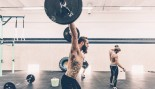 Barbell snatch exercise thumbnail