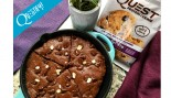 RECIPE: High Protein Chocolate Oatmeal Skillet Brownie thumbnail