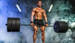 Bodybuilder performing deadlift thumbnail