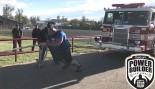 WATCH: Strongman Brian Shaw Pulls a 6 Ton Fire Truck  thumbnail