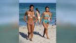 Christina Milian and Karrueche Tran Hit the Beach thumbnail