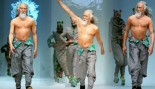 Bad-Ass 80-Year-Old Grandpa Crushes it On Catwalk thumbnail