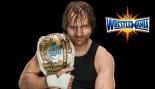 Dean Ambrose holding WWE championship belt thumbnail