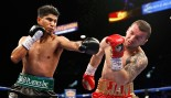 Mikey Garcia Nearly Knocks Dejan Zlaticanin Out of the Ring With Devastating Blow  thumbnail