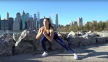 Brittany Smith demonstrates Do-Anywhere Bodyweight Program: Day 2 Legs  thumbnail