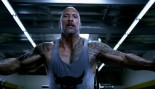 Dwayne The Rock Johnson performing chest exercise thumbnail