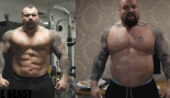 2017 World's Strongest Man, Eddie Hall lost 20 pounds thumbnail