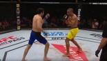 Edson Barboza and Benil Dariush square off in the ring.  thumbnail