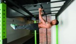 Man performing front lever move thumbnail