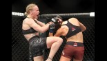 Valentina Shevchenko of Kyrgyzstan celebrates following her fight against Joanna Jedrzejczyk of Poland in a flyweight bout during the UFC 231 event at Scotiabank Arena on December 8, 2018 in Toronto, Canada. thumbnail