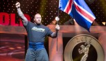 Watch Thor Björnsson Press 440 Pounds Over His Head  thumbnail