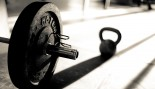 Barbell and Kettle-bell casting a shadow thumbnail