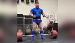 Hafþór Björnsson Deadlifts 953 Pounds Twice thumbnail