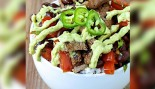 Healthy Food Bowl Lime Beef thumbnail