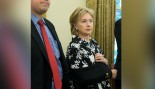 Hateful Hillary: Resentful Security Detail Laughed At Her Broken Elbow! thumbnail