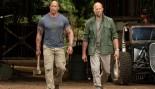 The Rock and Jason Statham on the set of 'Hobbs & Shaw.' thumbnail