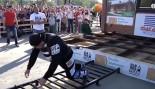 Russian Strongman Elbrus Nigmatullin Sets New World Record Pulling a House  thumbnail