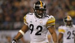 James Harrison In Steelers Uniform thumbnail