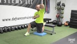 Tapout Training Series Tip of the Day - Wednesday: Hip Flexor Stretch thumbnail