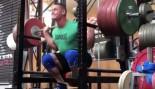 John Cena performing squat at gym thumbnail