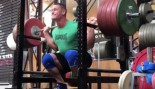 John Cena performing squat at gym thumbnail