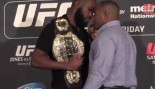 Jones and Cormier Brawl at Media Event thumbnail