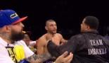 Andre Dirrell's Uncle Sucker Punches Jose Uzcategui thumbnail
