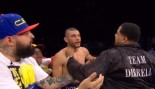 Andre Dirrell's Uncle Sucker Punches Jose Uzcategui thumbnail