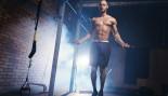 Man jumping rope in gym thumbnail