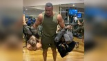 Larry Wheels Curls Two Human Beings Like It's Nothing thumbnail