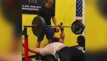 Here's Larry Wheels Benching 225 Pounds With One Arm  thumbnail
