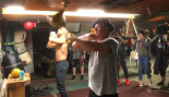 Michael B. Jordan and Sly Stallone Train Together in 'Creed II' BTS Video thumbnail