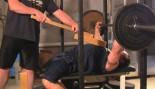 MHP Coaches Corner - Joe Mazza bench press with boards thumbnail