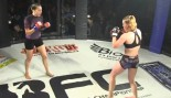 MMA Spinning Back Fist KO thumbnail