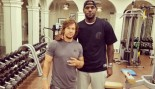 Mark Wahlberg Works Out with LeBron James thumbnail
