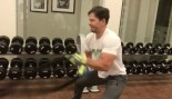 WATCH: Mark Wahlberg Sweating Through an Intense Full-Body Workout thumbnail